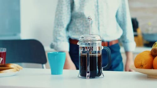 Zubereitung von Kaffee