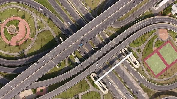 Thumbnail for View Of Highway Interchange