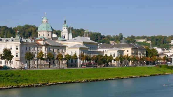 Hyperlapse of Salzburg, Austria.