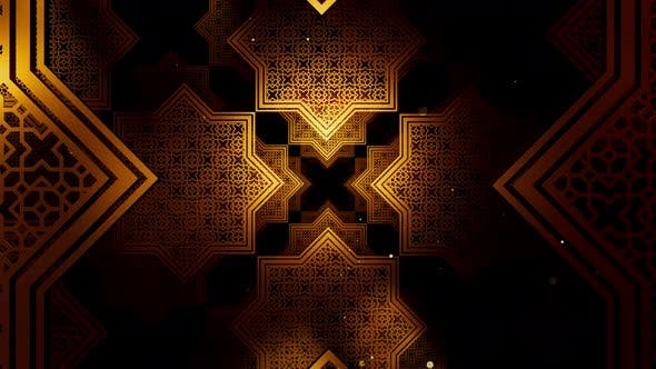 Thumbnail for Ramadan Kareem In Islamic Pattern 04 4K