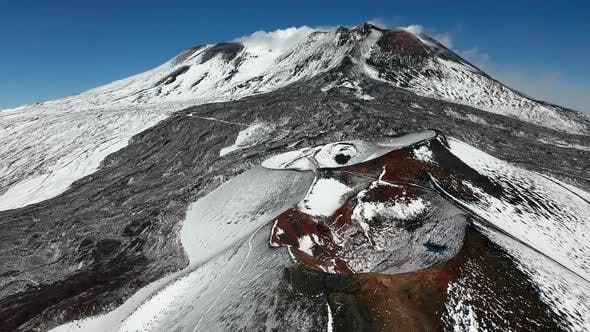 Thumbnail for Mount Etna on the Island of Sicily in the Early Morning