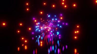 Blinking Vj Party 4K