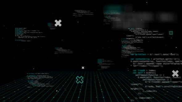 Digital data processing moving on seamless loop