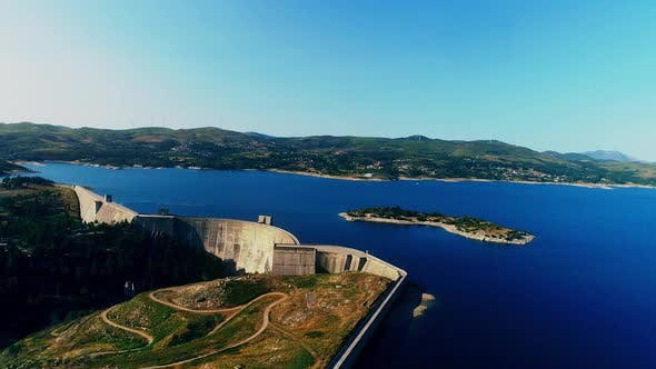 Thumbnail for Dam from Portugal Aerial Shot