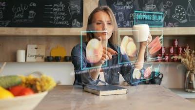 Online Shopping Via Hologram Screen