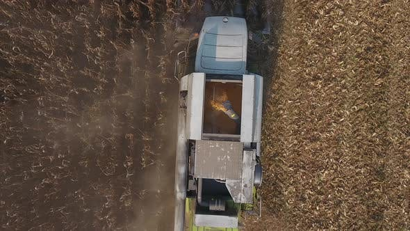 Corn Harvester Grain Tank