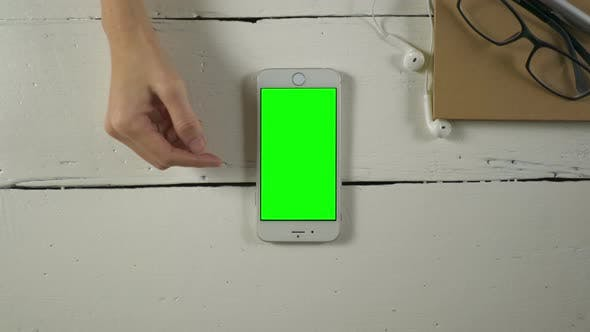 Thumbnail for Touch Screen Smartphone With Green Screen