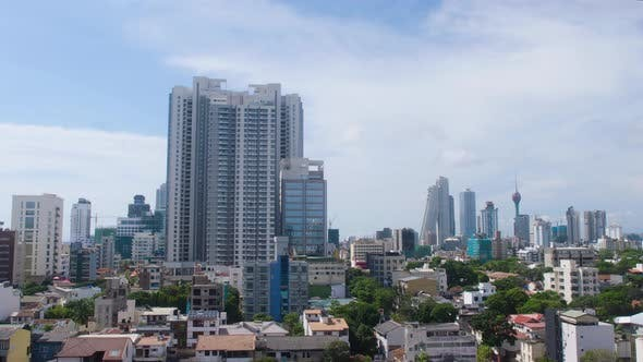 Colombo City Skyline Timelapse