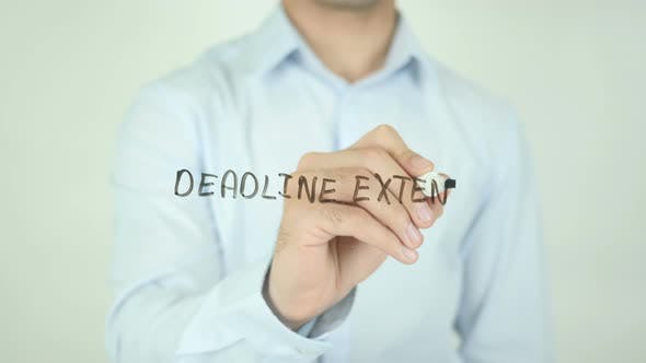 Deadline Extended, Writing On Screen