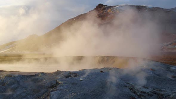 Thumbnail for Geothermal Activity