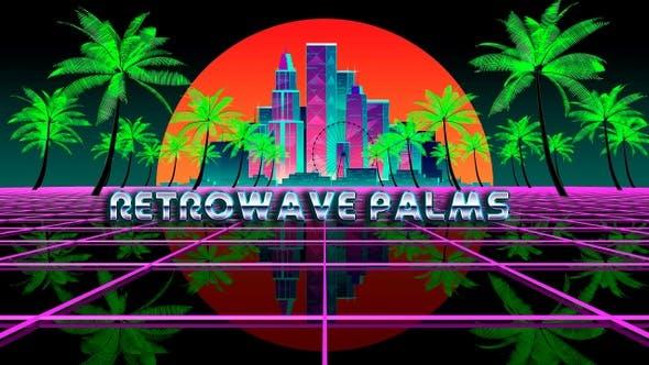 Retrowave Palms