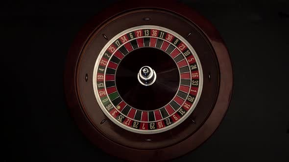 Thumbnail for Roulette Wheel Is Spinning Slowly Then Stops Black