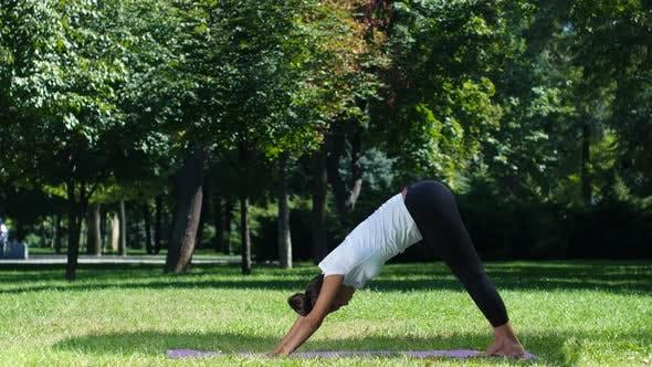 Thumbnail for Woman Practice Yoga, Yoga Pose