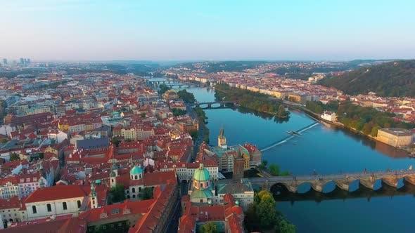 Thumbnail for Bridges of Prague Including the Famous Charles Bridge, Czech Republic