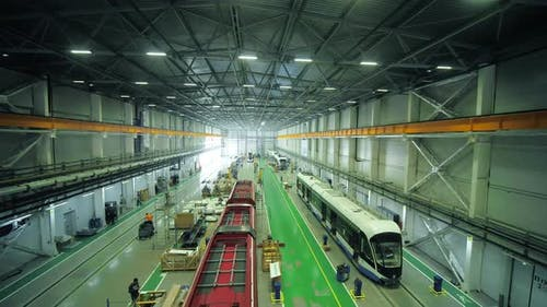 Production of Electric Trams