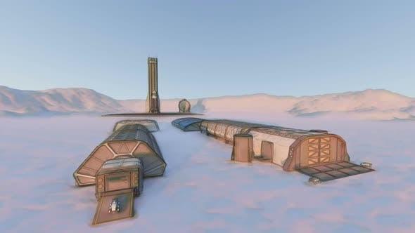 Thumbnail for Military Habitat Sketch