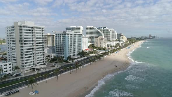 Thumbnail for Aerial view of Fort Lauderdale beach