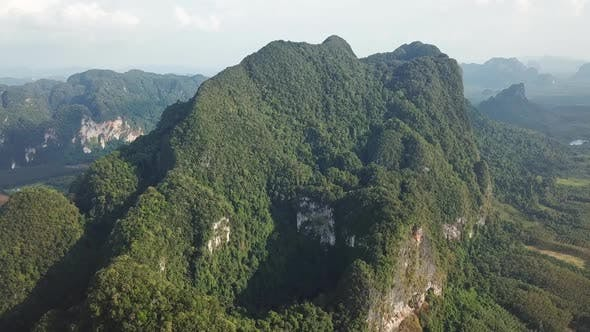 Thumbnail for Aerial View on Mountains in Thailand