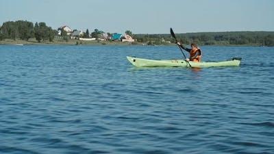 Hobby of Kayaking