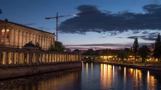 Timelapse of the Altes Nationalgalerie in Berlin