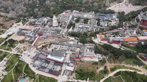 Aerial Historic Buildings in China