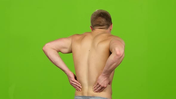 Thumbnail for Severe Back Pain, Man Suffering From Backache Having Painful Cramps