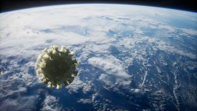 Coronavirus COVID19 on the Earth Orbit