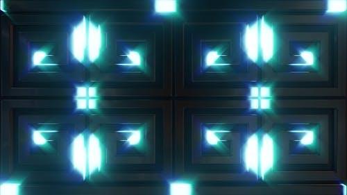Blue Lighting Neon Background V1