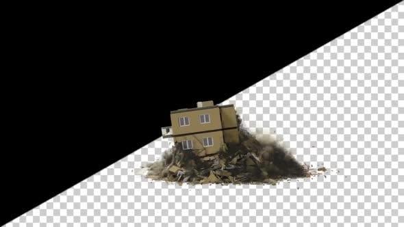 Thumbnail for Apartment Destruction Side View