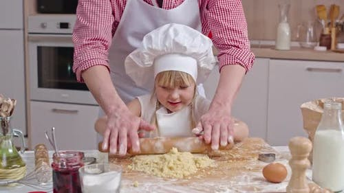 Cooking Pastry with Daddy