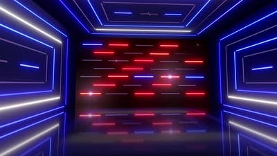 Disco Light Room