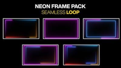 Neon Frame Pack Loop