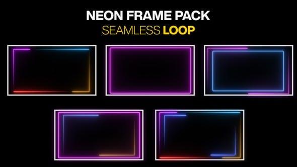 Neon-Rahmen-Packschlaufe