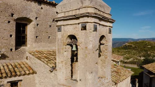 Ancient church bell tower
