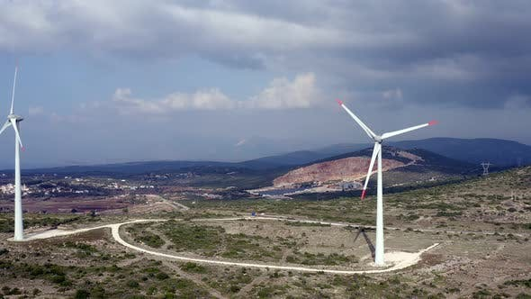 Thumbnail for Wind Turbines Spinning
