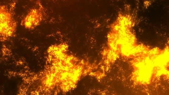 Thumbnail for Lava Lake Volcano Background