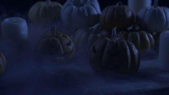Thumbnail for Scary Night With Jack O Lantern
