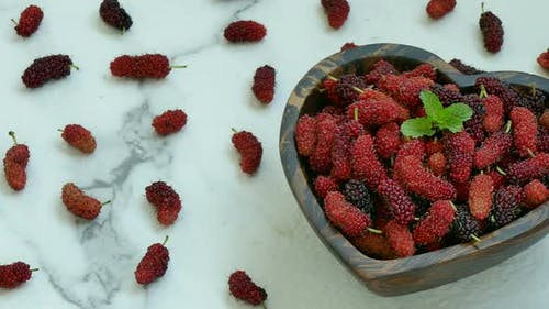 Mulberry fruit Healthy food