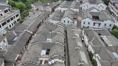 Old Street Buildings, Asia Aerial