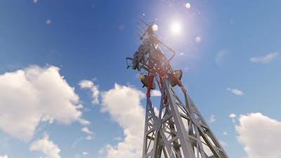 Broadcast Tower Antenna
