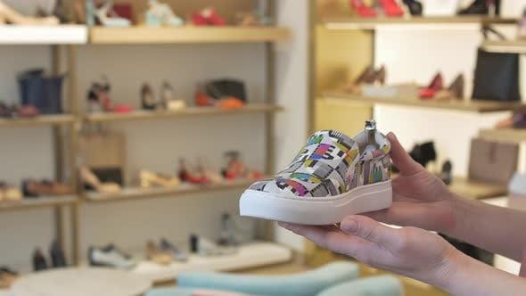 Shoe in Shoe Shop