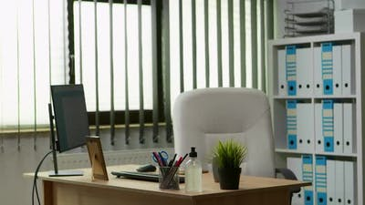 Interior of Empty Office Space