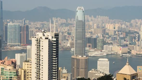 View Hong Kong City Skyline
