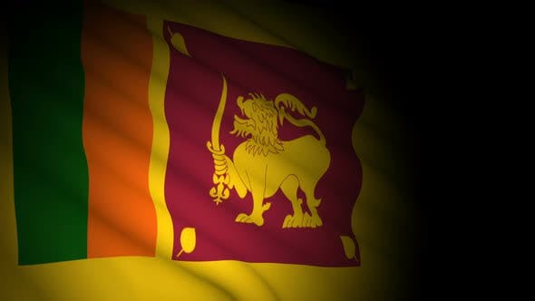 Thumbnail for Sri Lanka Flag Blowing in Wind