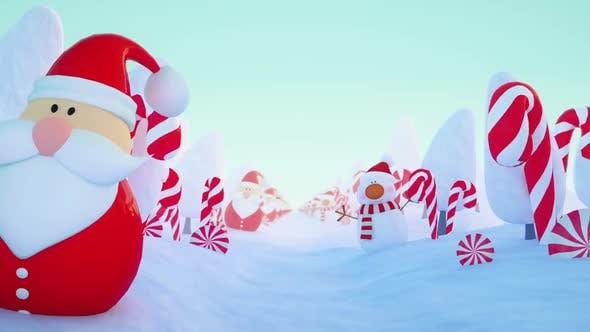 Christmas Background Loop 2