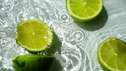 Falling of Segments of Lime