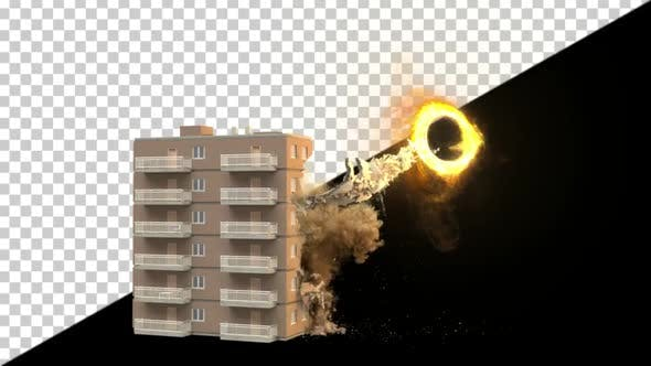 Thumbnail for Building Sucked Into Portal