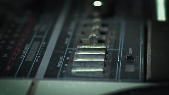 Old Worn Cassette Player 4