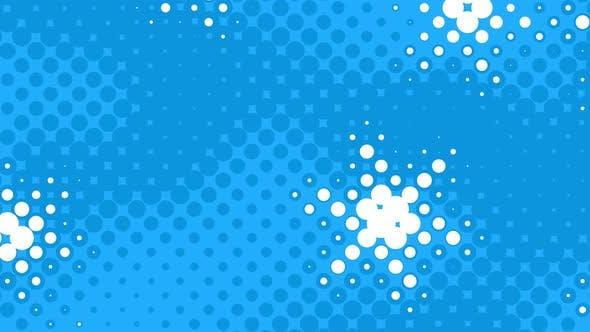 Thumbnail for Halftone Snowflakes