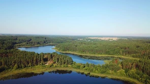 Thumbnail for Three Lakes In The Town Of Gorodok 04